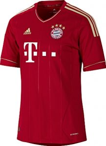 Maillot de Franck Ribéry au Bayern