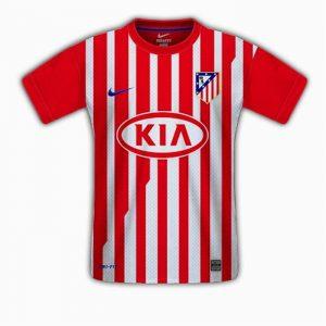 Nouveau maillot de L'atletico madrid