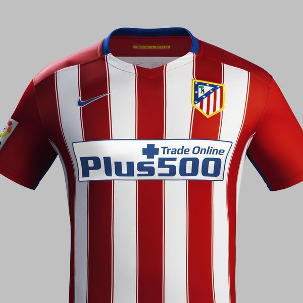 Le nouveau maillot domicile Atletico Madrid 2015-16