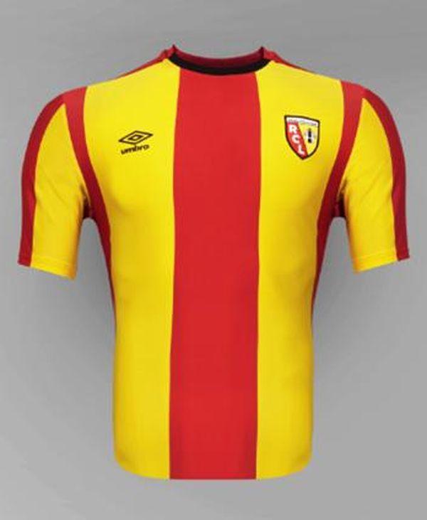 Voici le maillot domicile du RC Lens saison 2015-2016