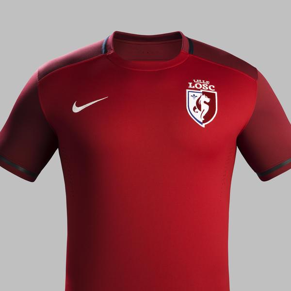 Nouveau maillot domicile LOSC 2015-16