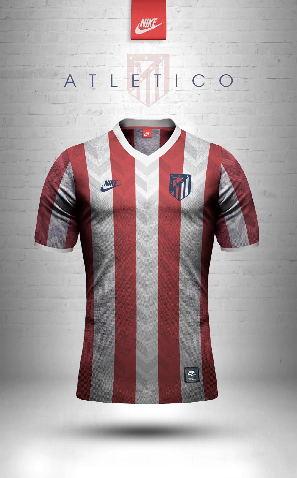 Maillot vintage Nike Atletico Madrid