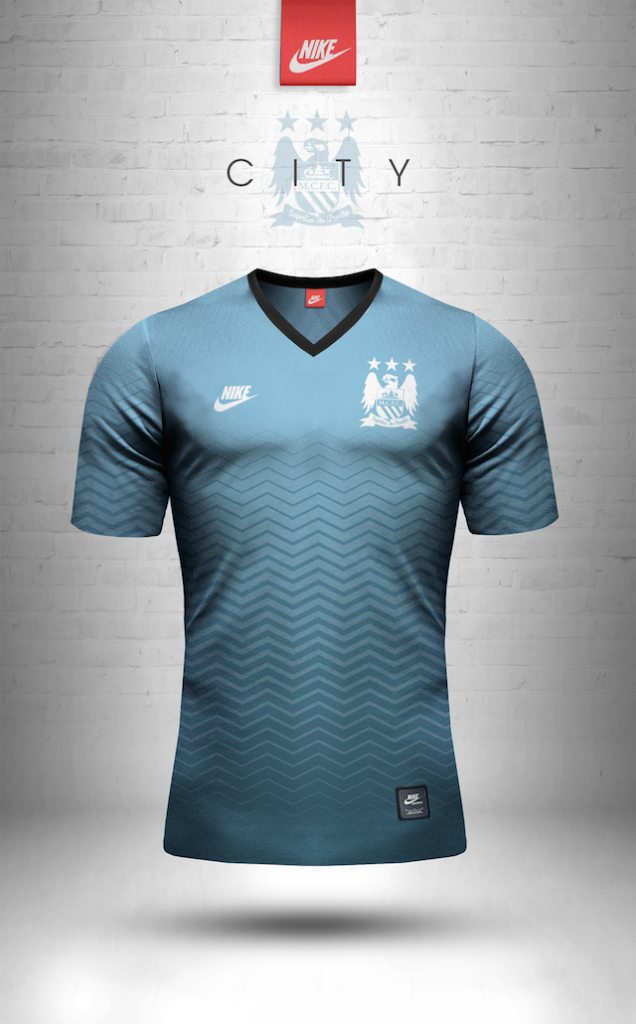Maillot vintage Nike Manchester City