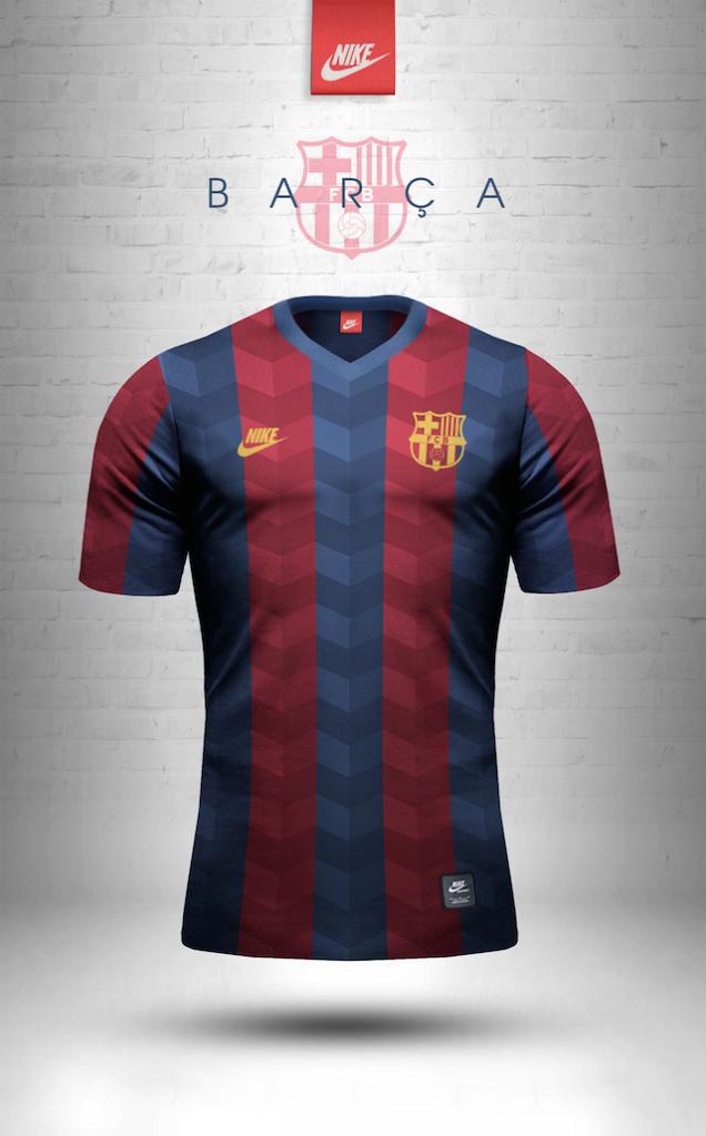 Maillot vintage Nike FC Barcelone
