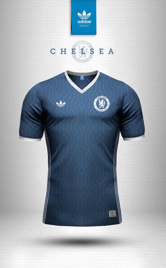 Maillot vintage Adidas Chelsea