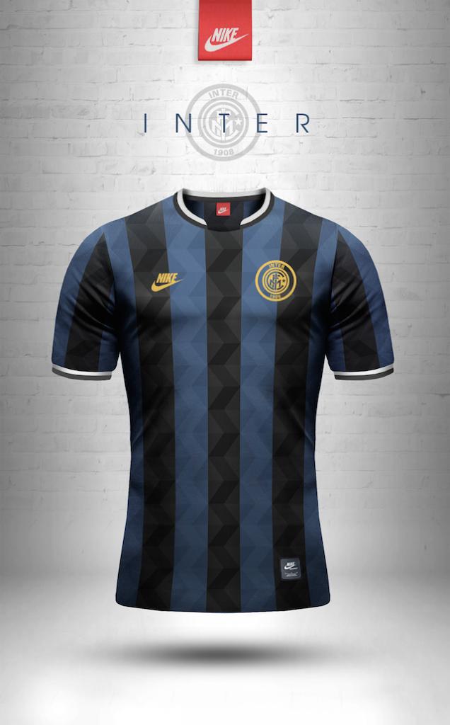 Maillot vintage Nike Inter Milan