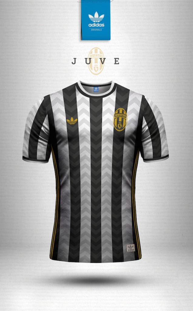 Maillot vintage Adidas Juventus