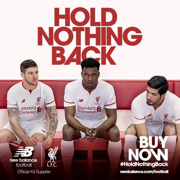 Liverpool Away 2015 2016