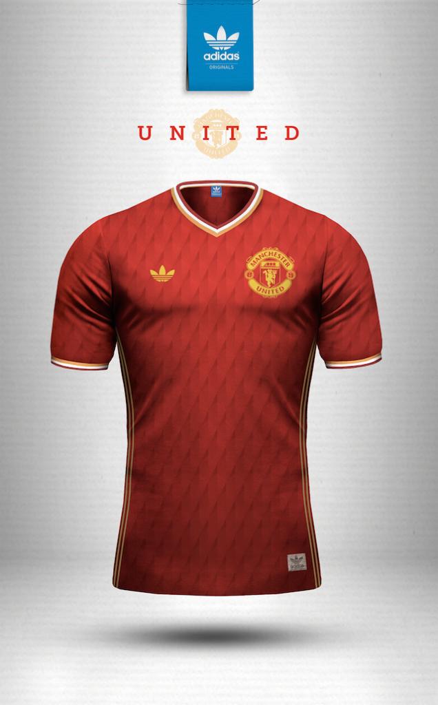 Maillot vintage Nike Manchester United