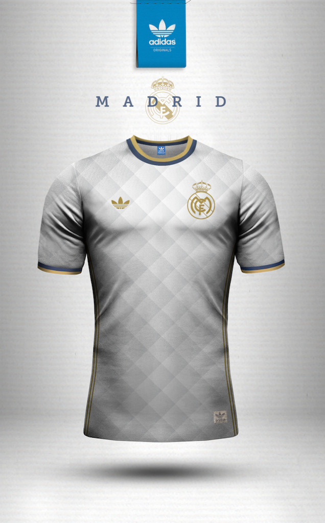 Maillot vintage Adidas Real Madrid