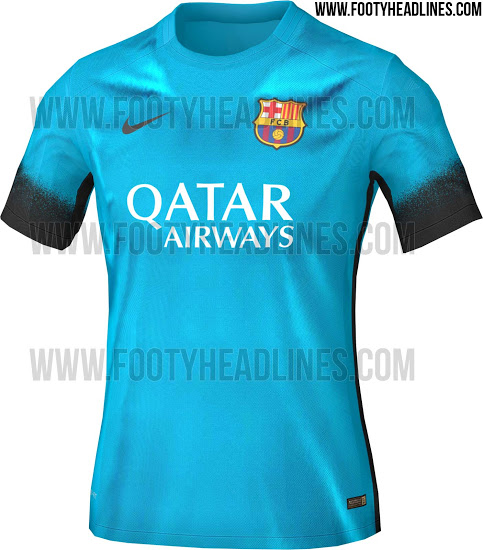 Maillot Third FC Barcelone 15-16 [non officiel]