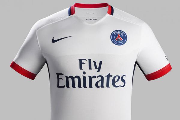 Le nouveau maillot extérieur du PSG