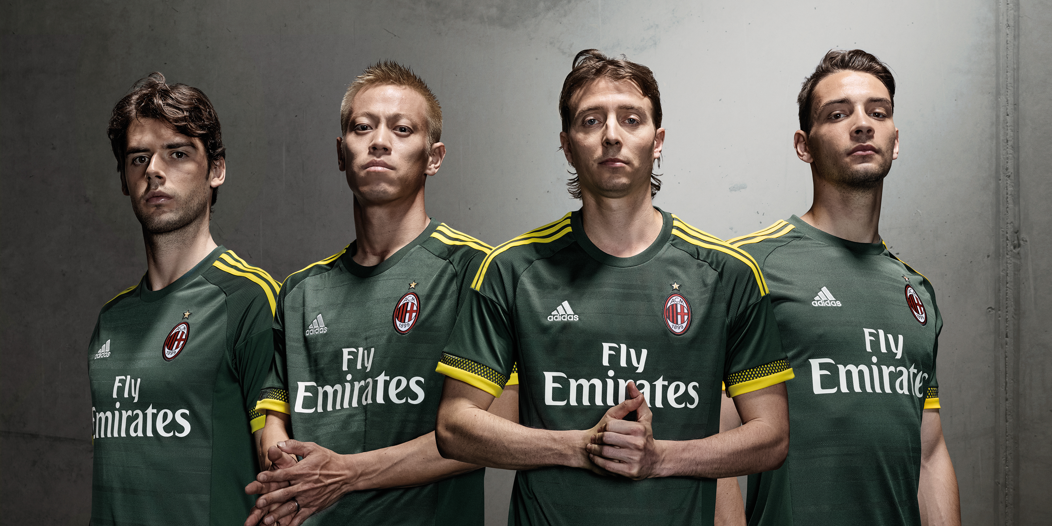 Le maillot Third du Milan AC 2015-16
