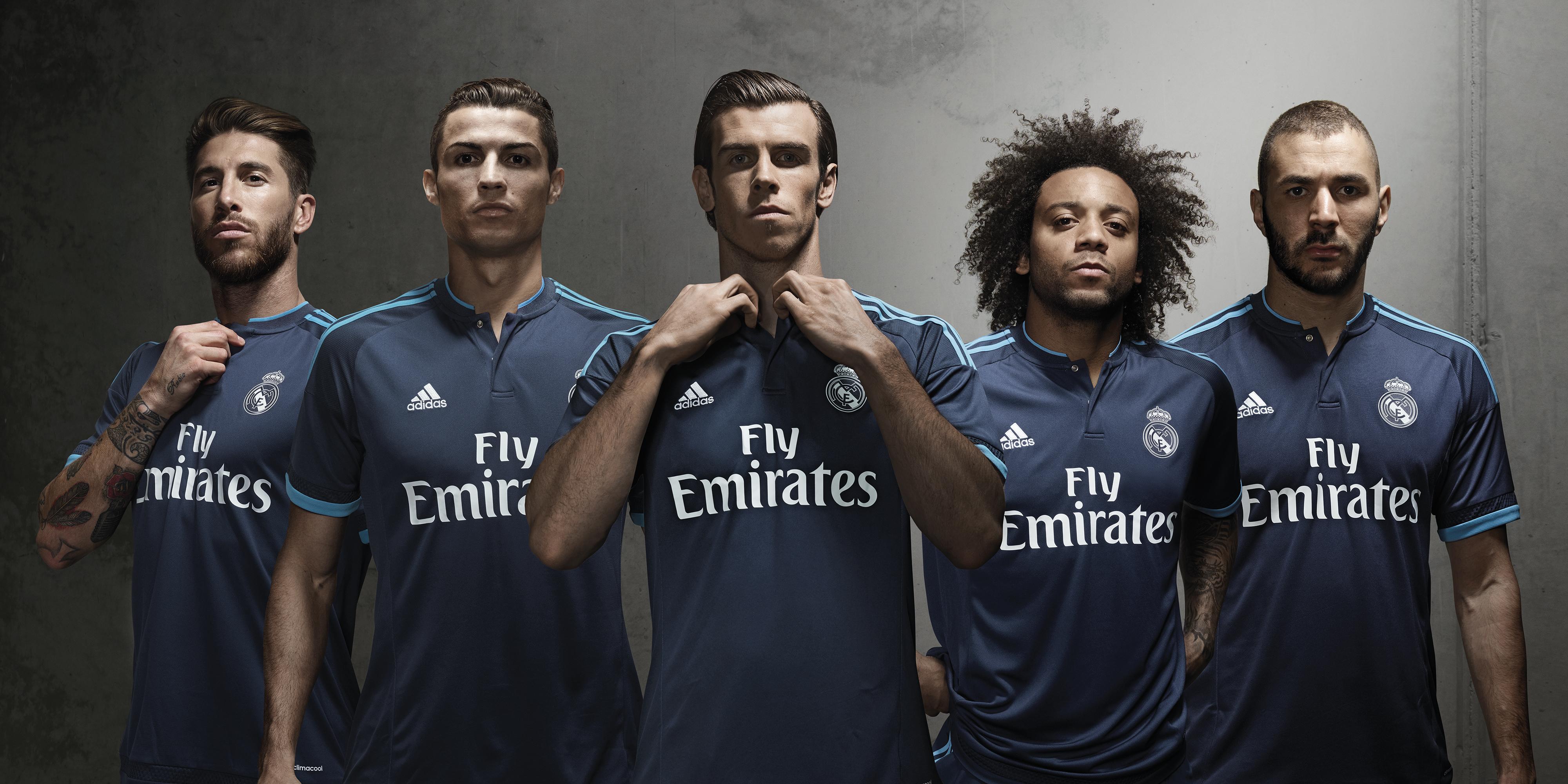 Maillot third Real Madrid