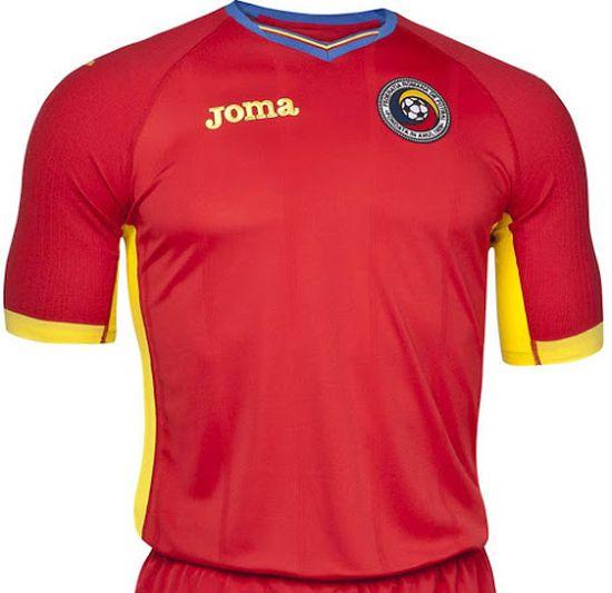 Nouveau maillot extérieur Roumanie Euro 2016 Joma