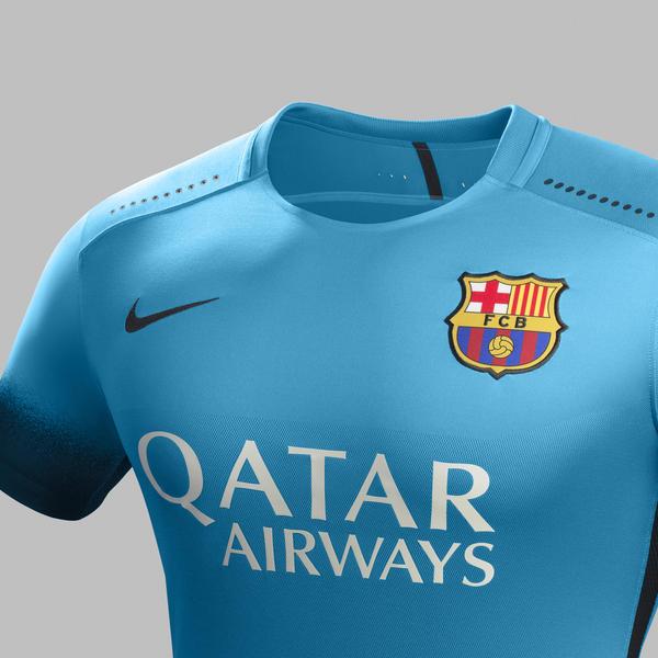 Nouveau maillot third du Barca 2015-16