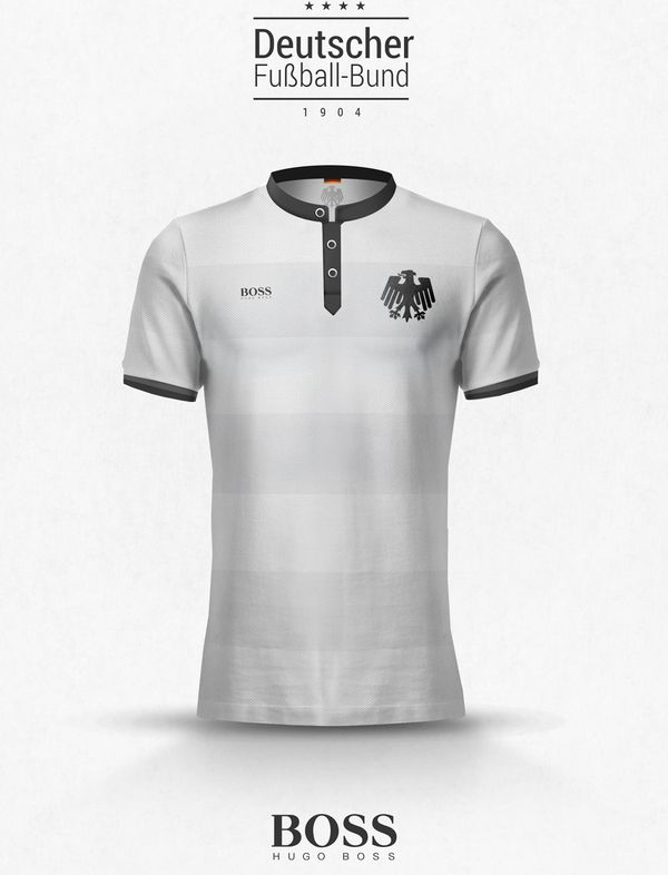 Maillot lifestyle Equipe d'Allemagne Hugo Boss