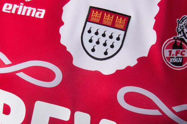 maillot Third Cologne carnaval Erima logo