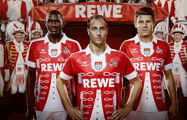 maillot Third Cologne carnaval Erima