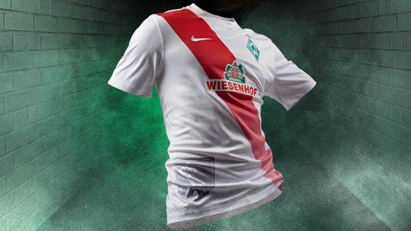 4e maillot Werder Brême Nike 2015-16