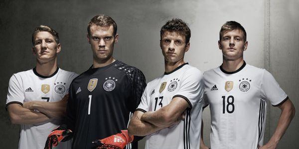 Maillot Adidas domicile Allemagne Euro 2016