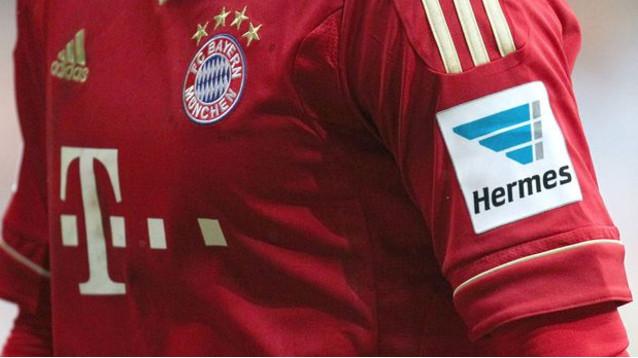 Bundesliga publicité sur les manches