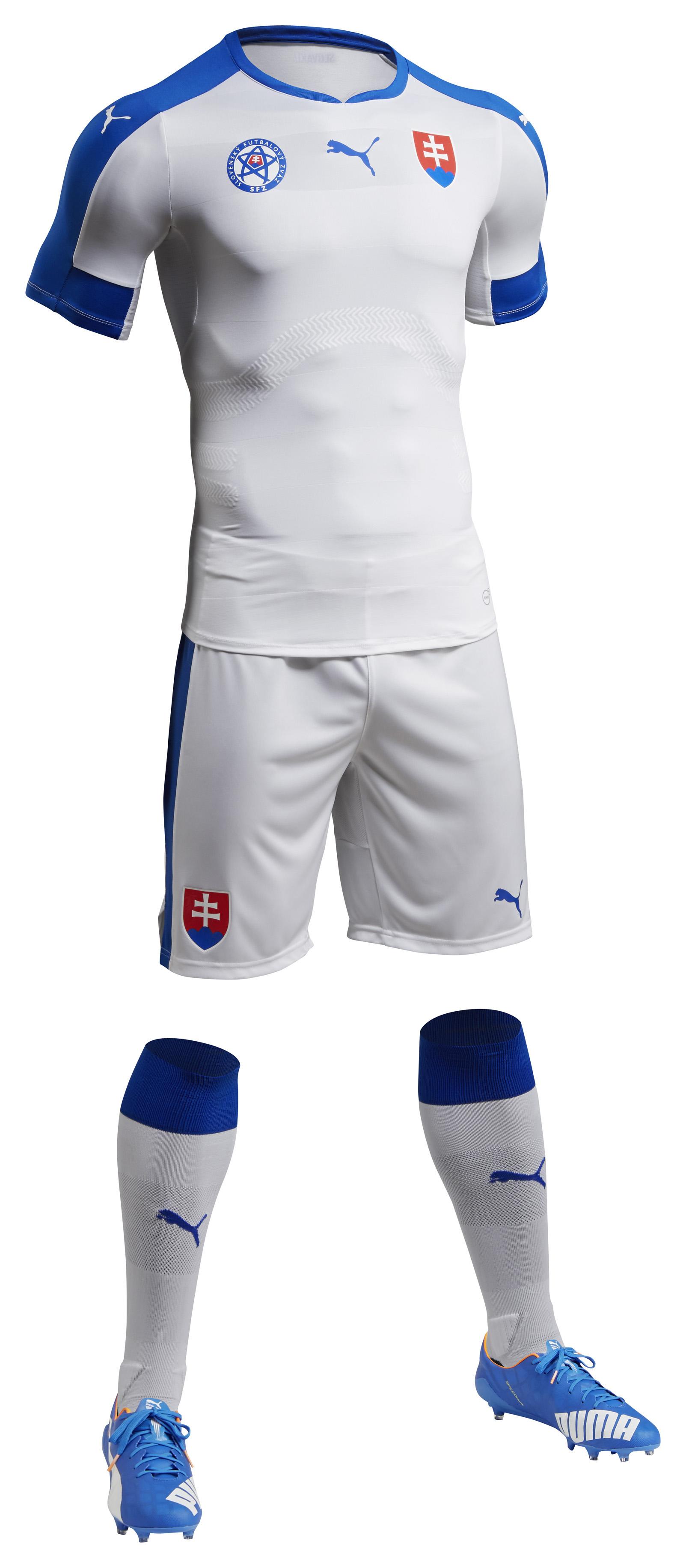 Kit domicile Slovaquie Euro 2016