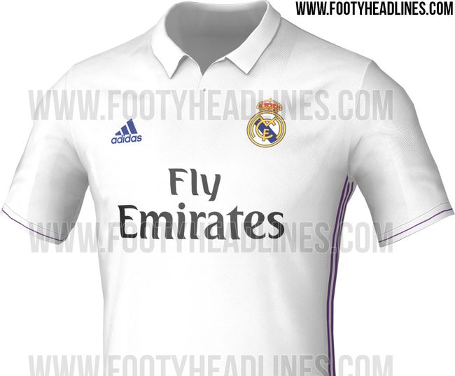 Maillot Adidas Real Madrid domicile 2016-17