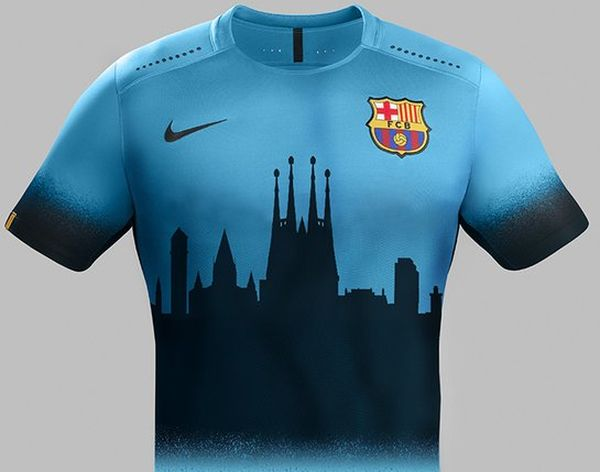 Barça concept kit Nike City