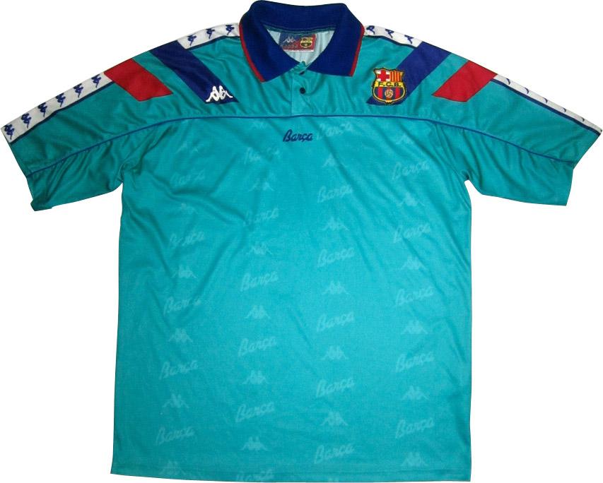 FC Barcelone extérieur 1991/1992