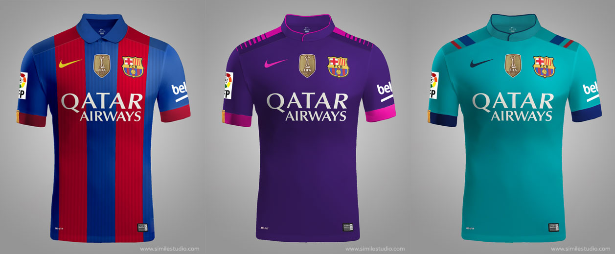 FC Barcelone kit 2016/2017