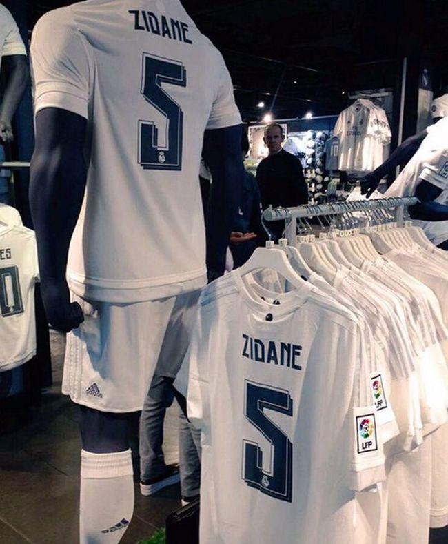 Maillot Adidas Zidane Real Madrid