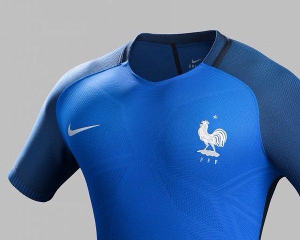 Maillot equipe de France domicile Euro 2016