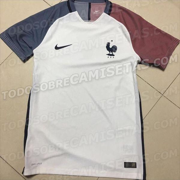 maillot extérieur France Nike Euro 2016