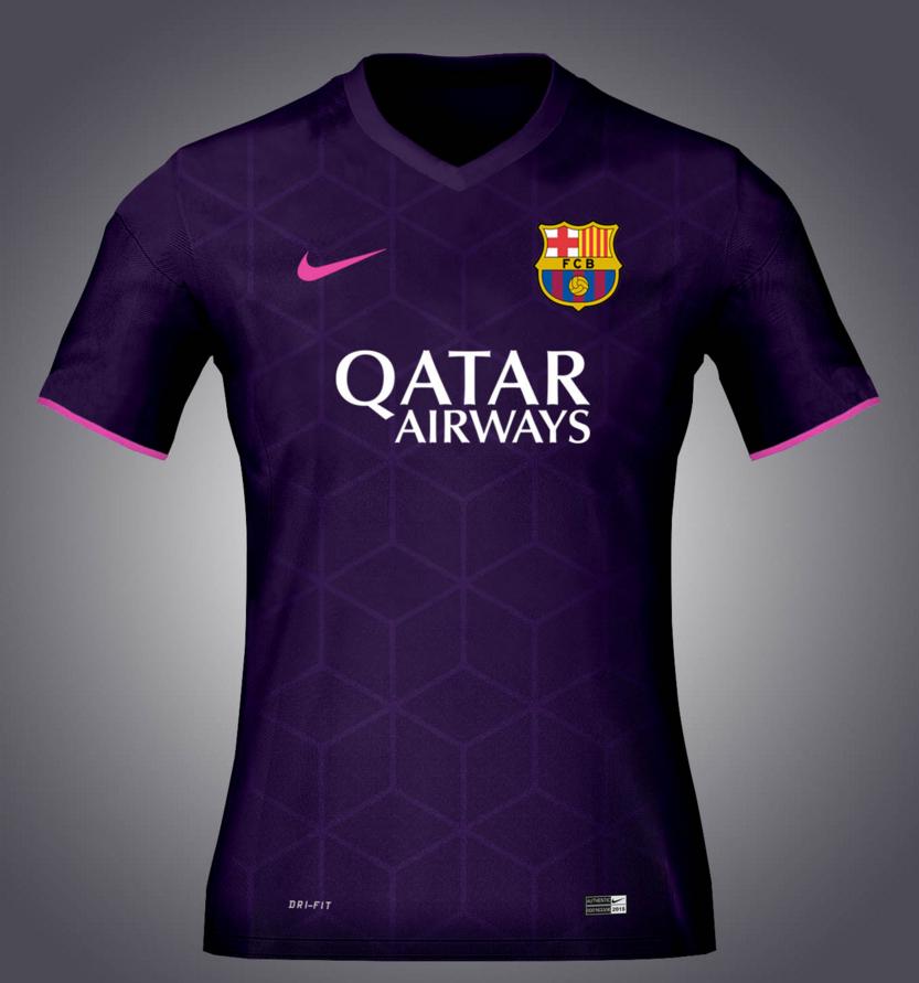 Maillot extérieur FC Barcelone 2016-2017