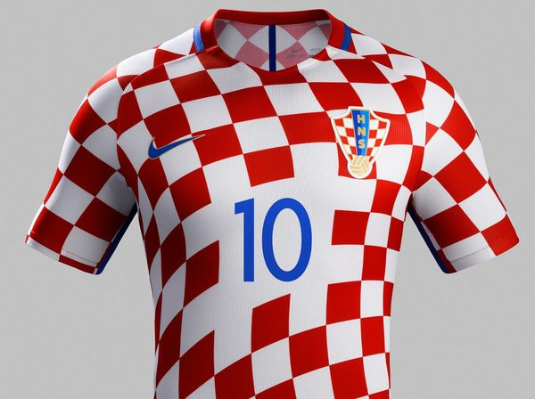 Maillot Croatie Nike  domicile Euro 2016
