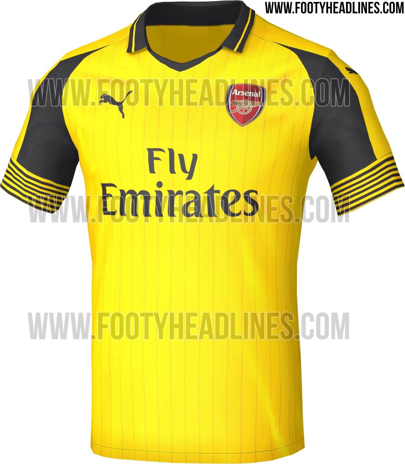 Maillot Arsenal 2016-17 Puma