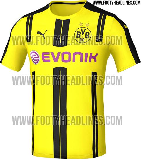 Le nouveau maillot Puma du Borussia Dortmund 2016-17
