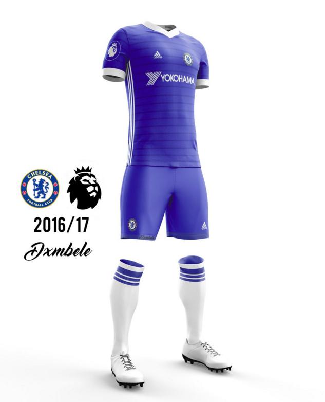 Concept kit Chelsea 2016-17