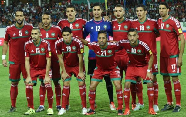 Maillot domicile Maroc 2015/2016