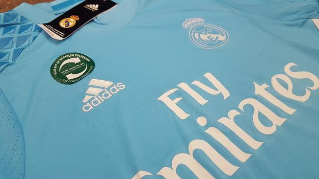 Maillot gardien Real Madrid 2016-17 Adidas