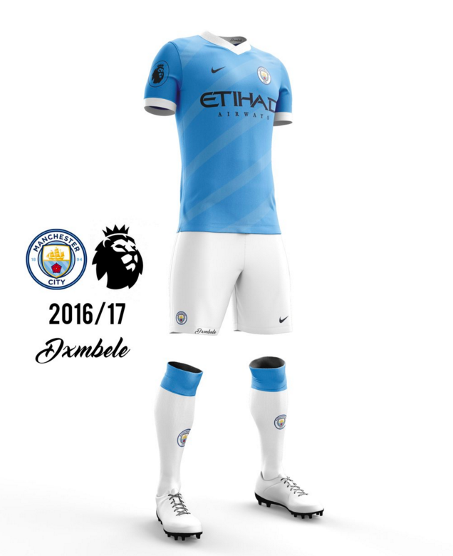 Concept kit Manchester City 2016-17