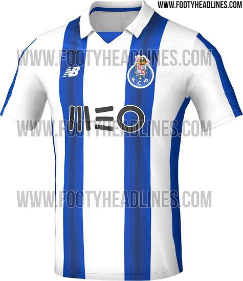 Le nouveau maillot New Balance du FC Porto 2016-17