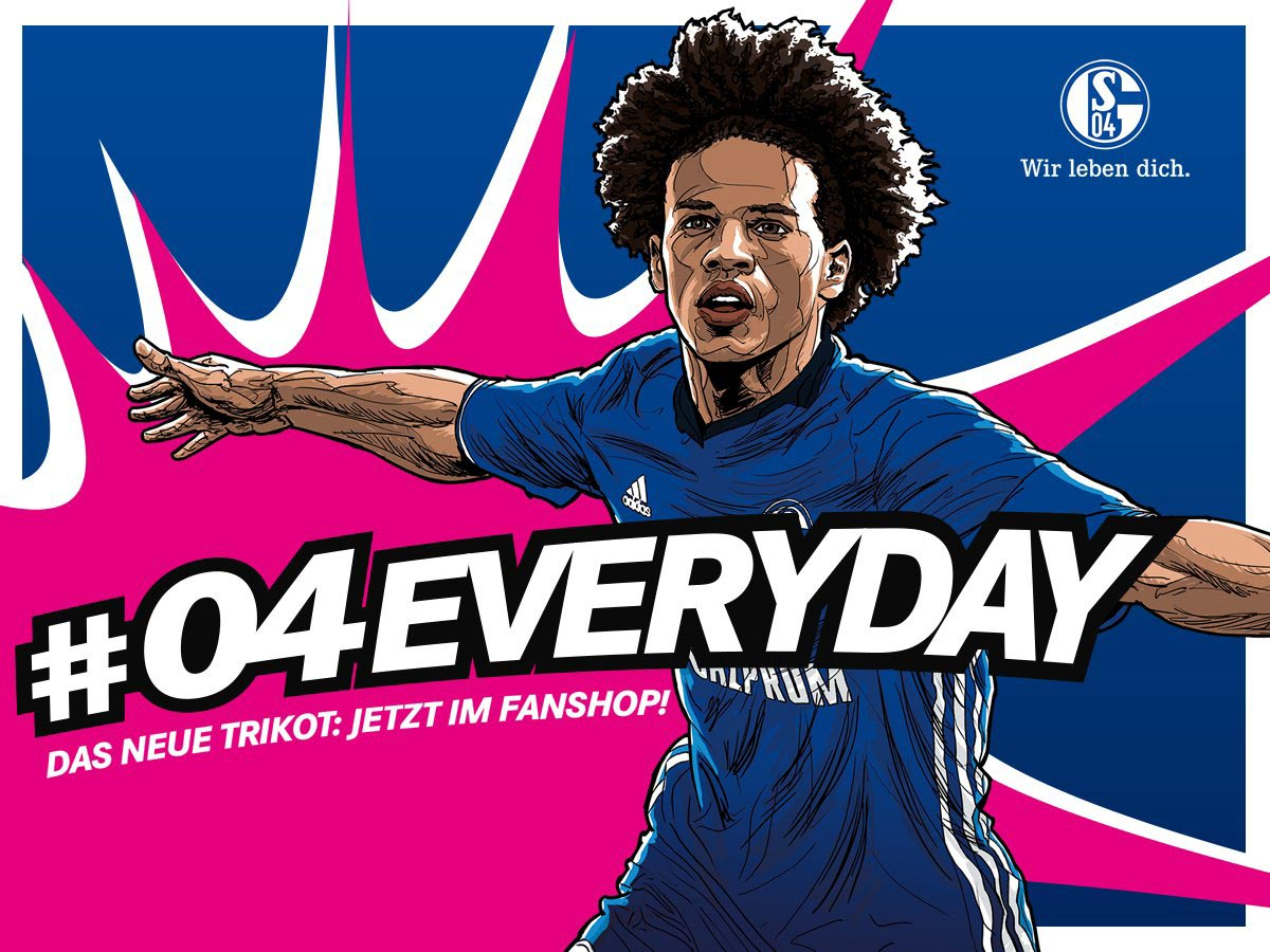 Le nouveau maillot Adidas de Schalke 2016-2017