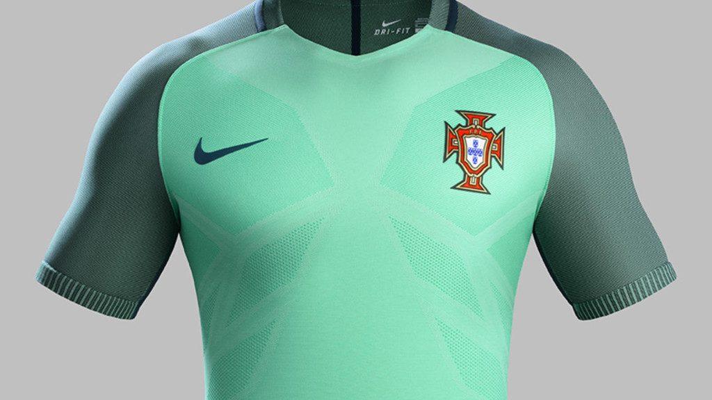 Maillot Portugal extérieur Euro 2016 Nike