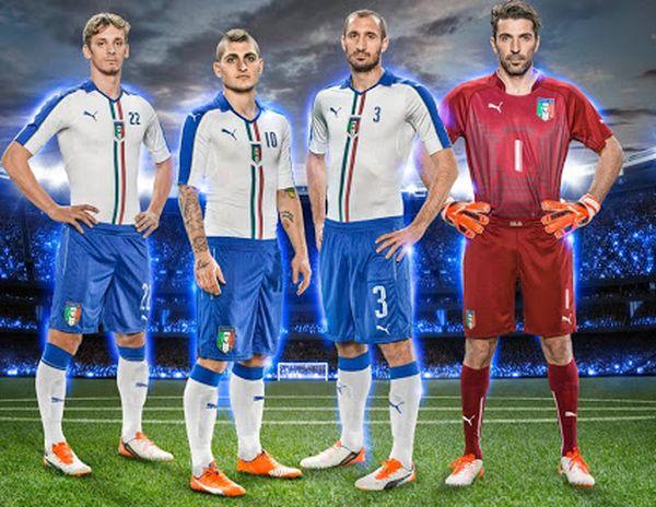 Maillot exterieur Italie Euro 2016 Puma