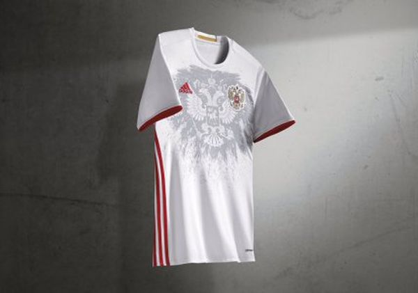 Maillot Russie extérieur Euro 2016 Adidas