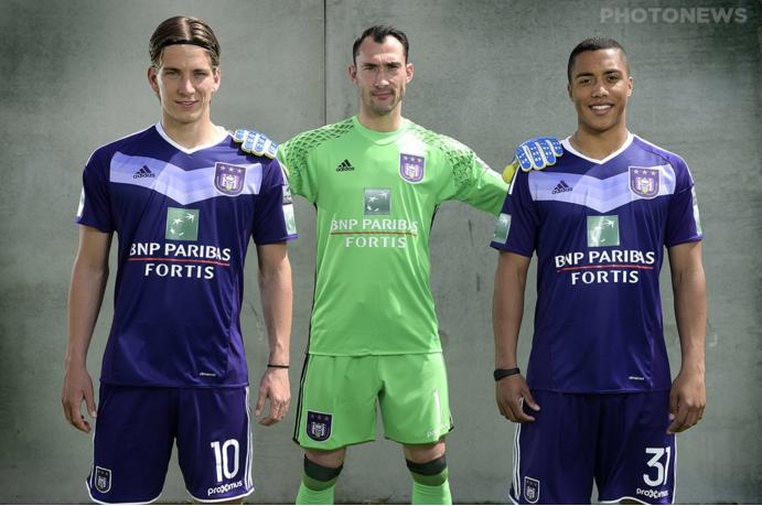 Nouveau maillot domicile Anderlecht 2016-17 Adidas