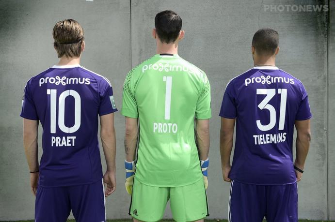 Maillot Anderlecht 2016-17 Adidas