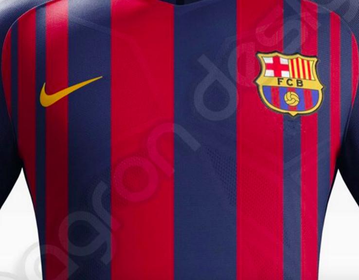 Maillot du Barça 2017-18 Nike